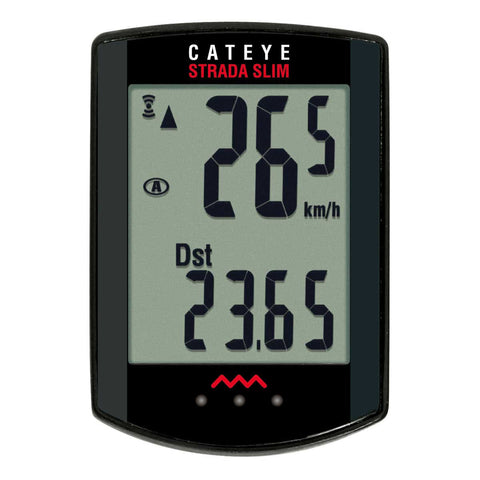Cateye Strada Slimline Head Unit And Sensor
