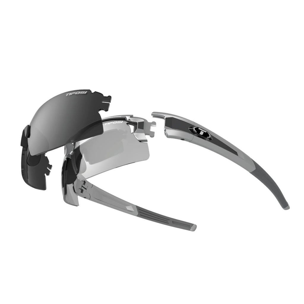 Tifosi Pro Escalate Half & Shield Fototec Glasses