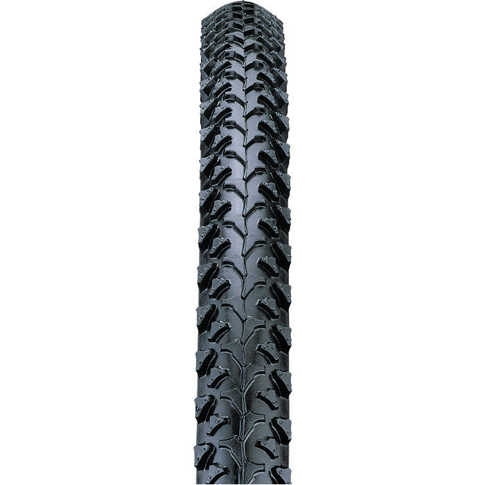 Nutrak 26 X 1.95 Inch Mtb Raised Centre Tread Knobbly Tyre Black