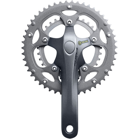 Shimano Fc-2403 Claris Octalink Triple Chainset, 8-Speed