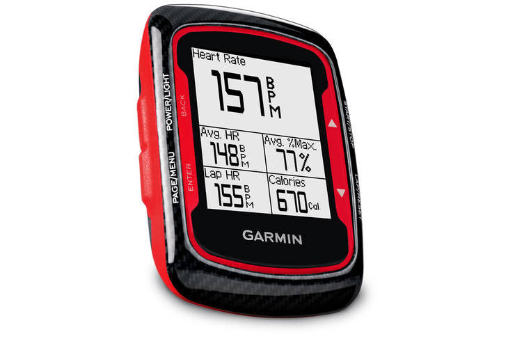 Garmin Edge 500 Red GPS Cycle Computer - Cadence & Heart Rate