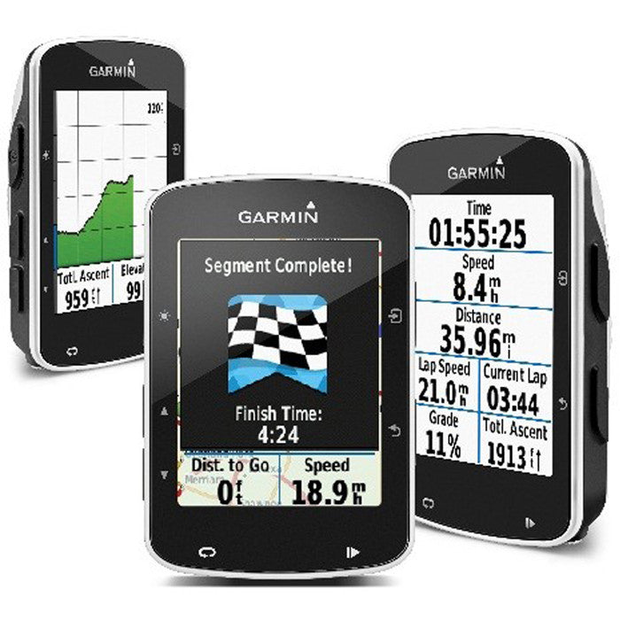 Garmin Edge 520 GPS Computer - Speed, Cadence, Heart Rate