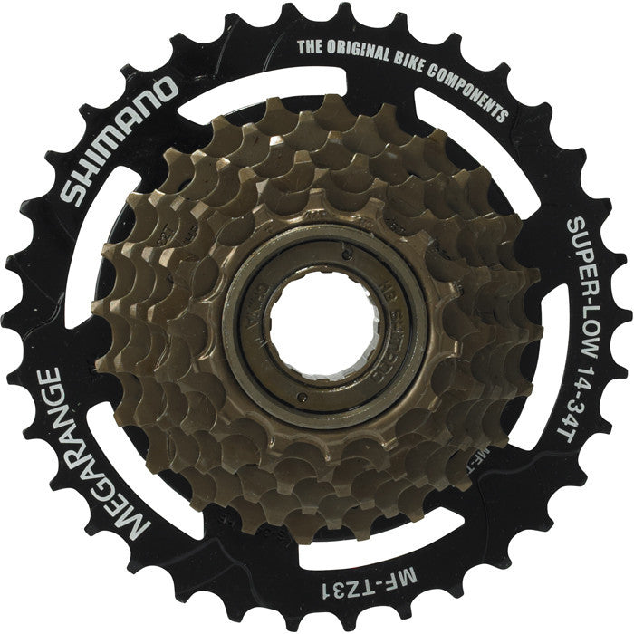 Shimano Mf-Tz31 7-Speed Multiple Freewheel