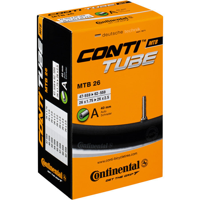 Continental Mountain 26 X 1.75 - 2.5 Inch Inner Tube