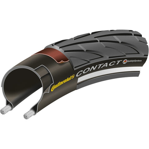 "Continental Contact Ii Reflex 20 X 1.75"" Black Tyre"