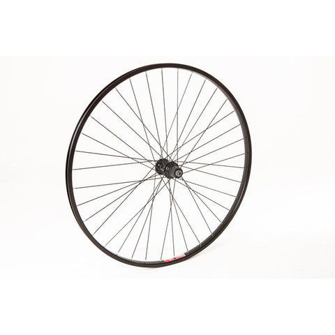 M:Part 700C X 19 Mm Q/R Shimano Pattern 8/9-Speed Hybrid Rear Wheel