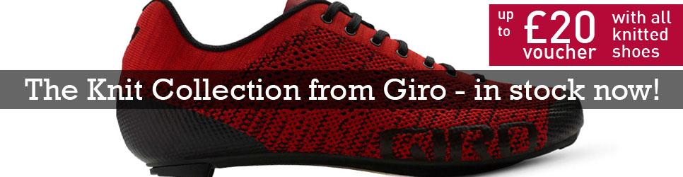 Giro Knit shoes now in stock