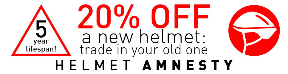 20% Off all helmets when you trade in