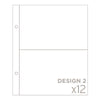6x8 Photo Pocket Pages - Design 2