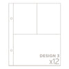 6x8 Photo Pocket Pages - Design 3