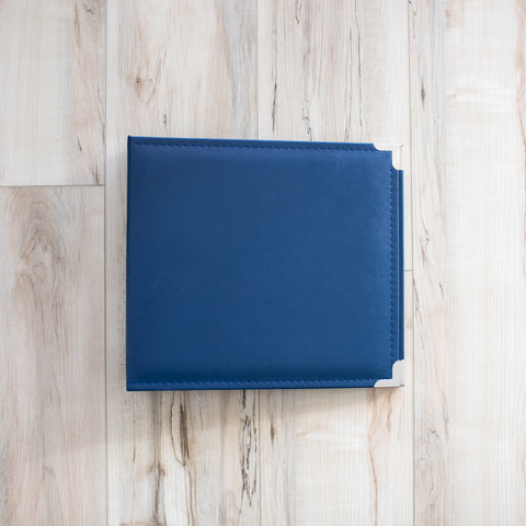 Cobalt 10x10 Faux Leather Album