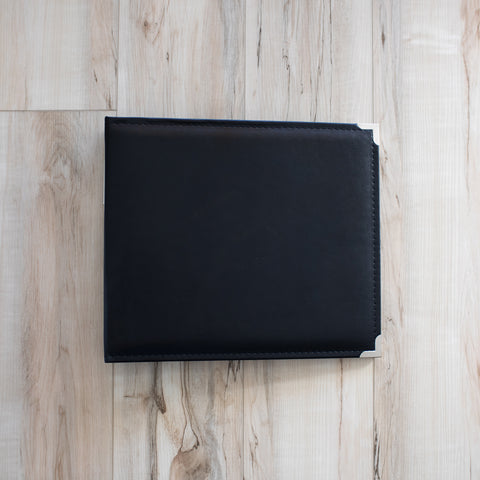 Black 12x12 Faux Leather Album