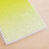 Love Simple Notebook - Green Ombre