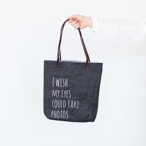 Black Recycled Tote