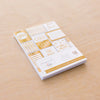 Gold + Bold 3x4 Card Pad