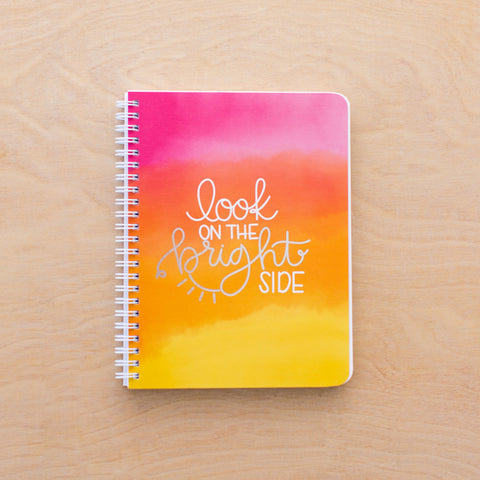 Bright Side Simple Notebook
