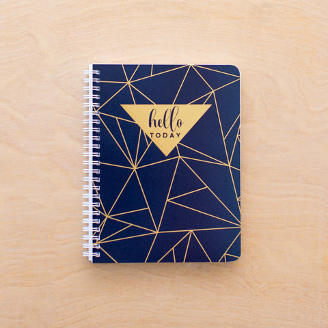 Hello Today Simple Notebook