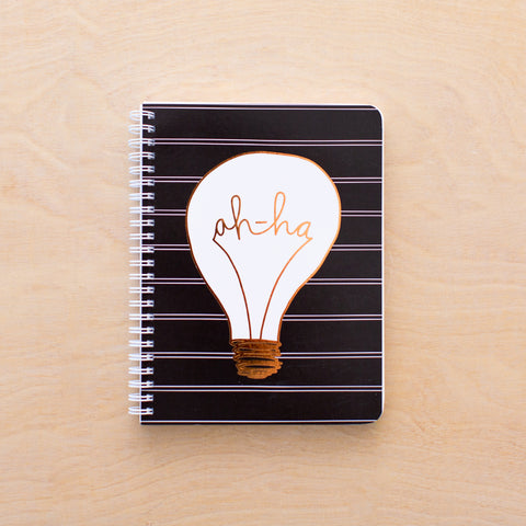 Ah-ha Simple Notebook