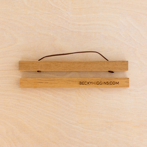 Magnetic Wooden Hanger