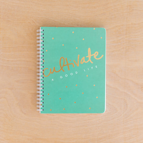Cultivate Simple Notebook