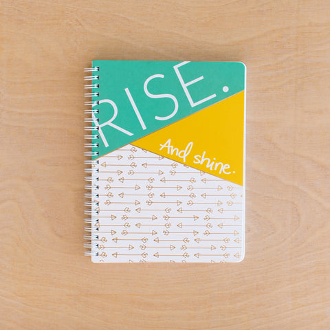 Rise Simple Notebook