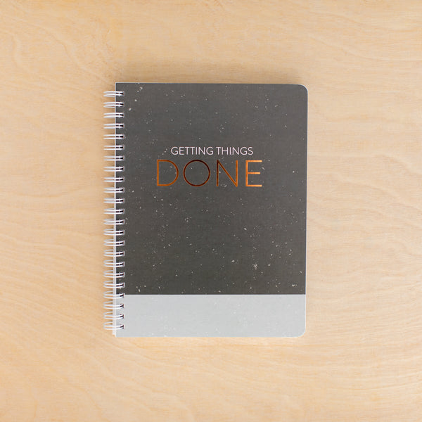 **NEW** Getting Things Done Simple Notebook