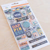 Project 52 - Daring Chipboard Stickers
