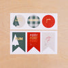 Large Holiday Labels + Bags