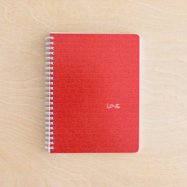**NEW** Love Simple Notebook - Holiday