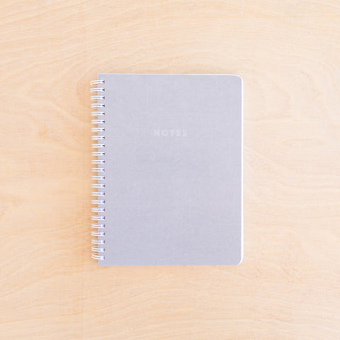Notes - Grey Simple Notebook