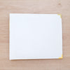 White & Gold 12x12 Faux Leather Album