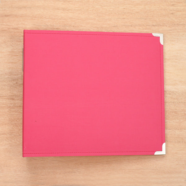 Blush 12x12 Cloth Album - Pocket Scrapbooking & Memory Keeping - 1