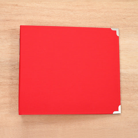 Cherry 12x12 Cloth Album - Pocket Scrapbooking & Memory Keeping - 1