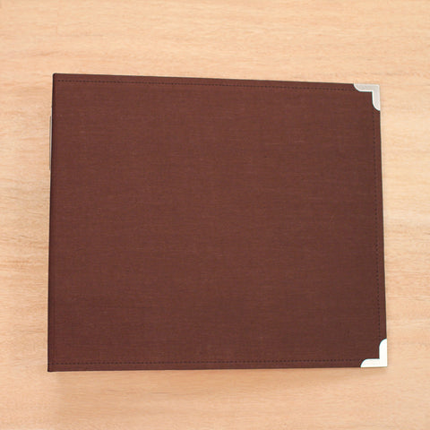 Cinnamon 12x12 Cloth Album - Pocket Scrapbooking & Memory Keeping - 1