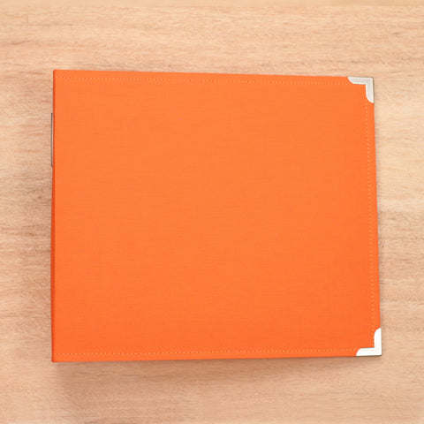 Clementine 12x12 Cloth Album - Pocket Scrapbooking & Memory Keeping - 1