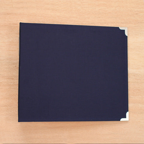 Cobalt 12x12 Cloth Album - Pocket Scrapbooking & Memory Keeping - 1