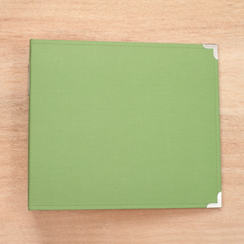 Kiwi 12x12 Cloth Album - Pocket Scrapbooking & Memory Keeping - 1