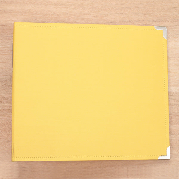 Sunflower 12x12 Cloth Album - Pocket Scrapbooking & Memory Keeping - 1