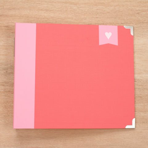 Strawberry Edition Designer Cloth Album - Pocket Scrapbooking & Memory Keeping - 1