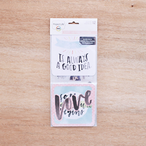 Inspire Edition 4x4 Cards - Pocket Scrapbooking - 1