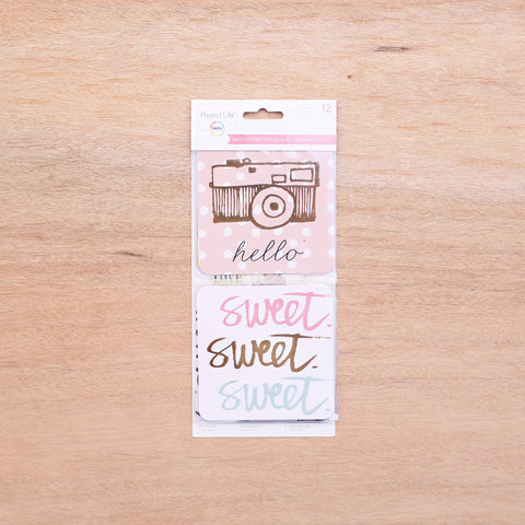Sweet Edition 4x4 Cards - Pocket Scrapbooking - 1