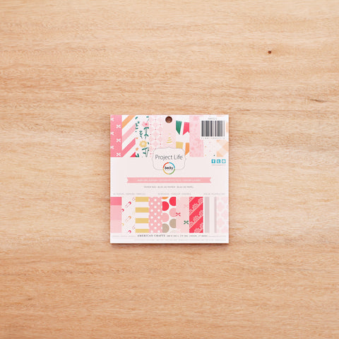 Baby Girl 6x6 Paper Pad - Pocket Scrapbooking & Memory Keeping - 1