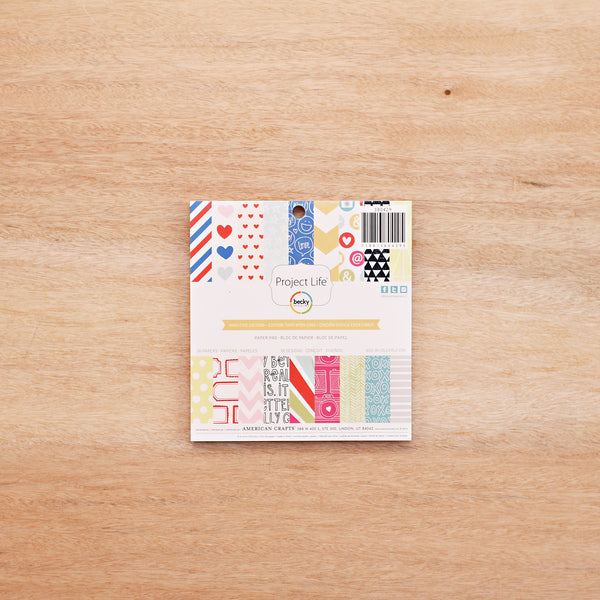 High Five Edition 6x6 Paper Pad - Pocket Scrapbooking - 1