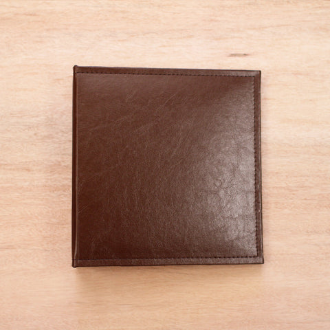 Cinnamon 6x8 Faux Leather Album - Pocket Scrapbooking - 1