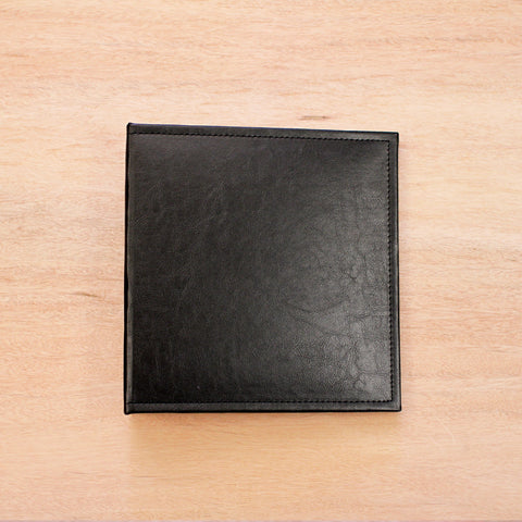 Midnight 6x8 Faux Leather Album - Pocket Scrapbooking