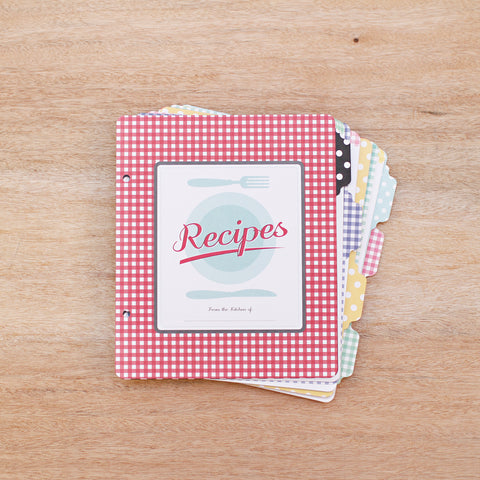 6x8 Recipe Pages - Pocket Scrapbooking - 1