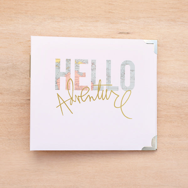 Hello 8x8 Album - Pocket Scrapbooking - 1