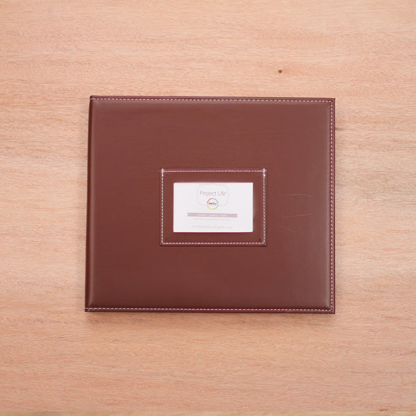 Cinnamon Mini Album - Pocket Scrapbooking - 1