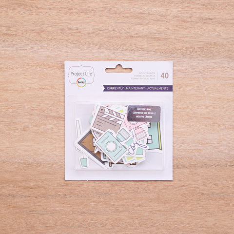 Currently Edition Die-Cut Shapes - Pocket Scrapbooking - 1