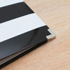 Black & White Stripe Designer Album